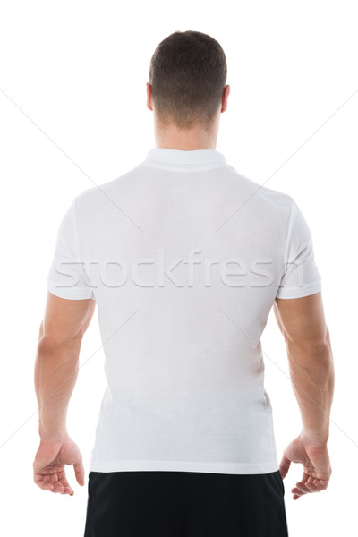 Rear View Of Man In Casuals Stock photo © AndreyPopov