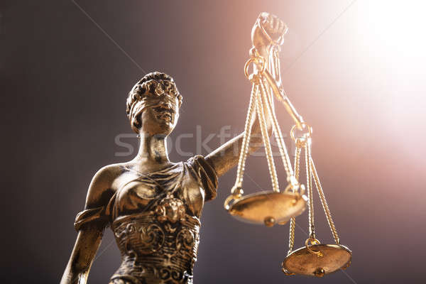 Close-up Of Justice Statue Stock photo © AndreyPopov