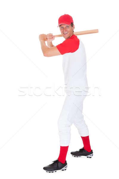 Portrait Of Baseball Player Stock photo © AndreyPopov