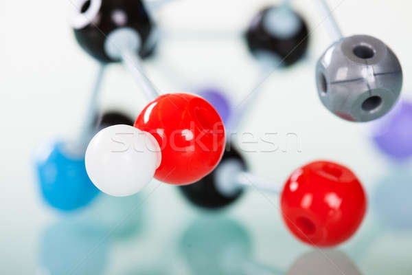 Model of molecular structure Stock photo © AndreyPopov