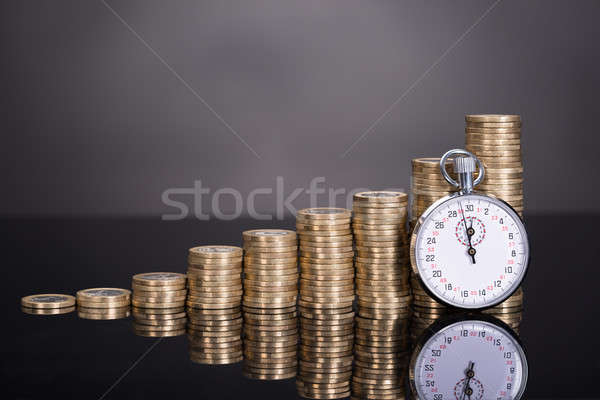 Time is money concept Stock photo © AndreyPopov