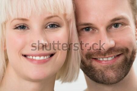 Happy Young Couple Stock photo © AndreyPopov