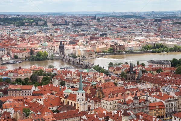 Charles bridge, Prague, Czech Republic,, Stock photo © AndreyPopov