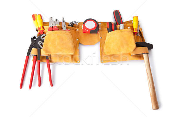 Toolbelt with various tools Stock photo © AndreyPopov