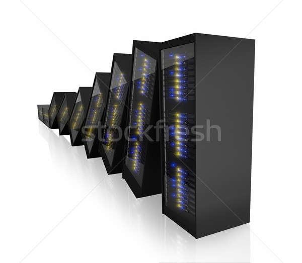 Last working server Stock photo © AndreyPopov
