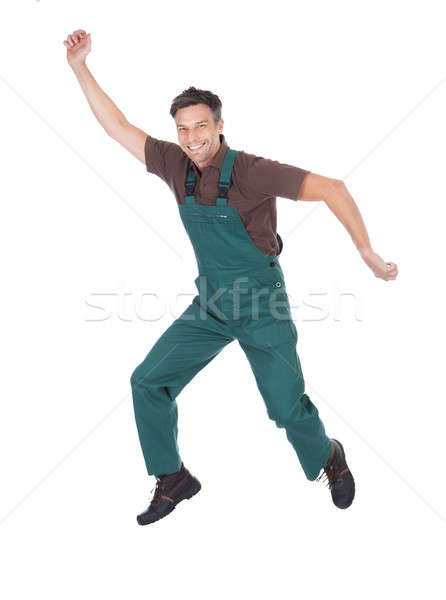 Excited Male Gardener Stock photo © AndreyPopov