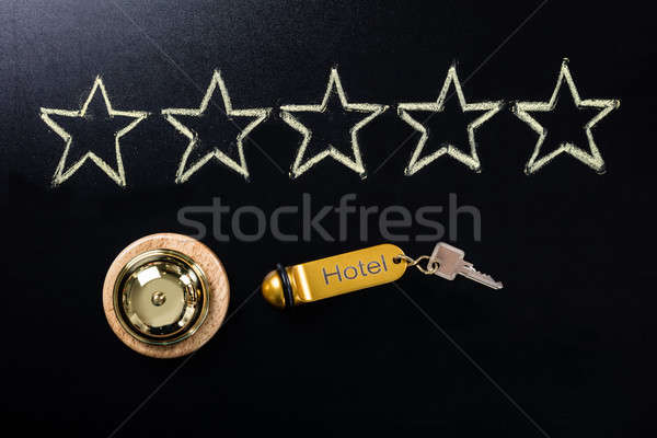 Five Star Service Concept On Blackboard Stock photo © AndreyPopov