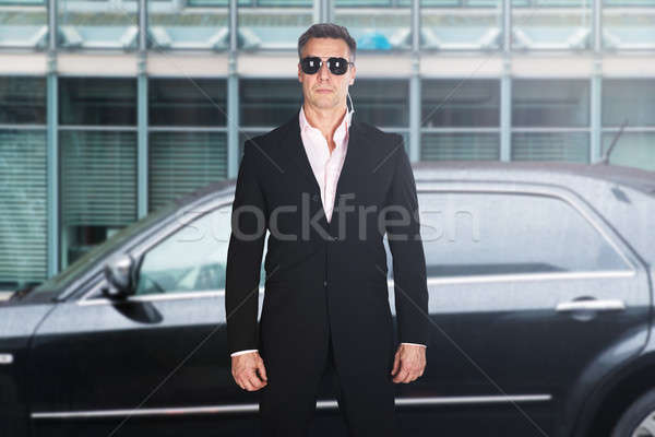 Portrait Of A Male Security Guard Stock photo © AndreyPopov