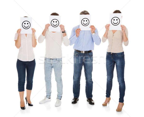 商業照片: 組人 · 笑臉 · 微笑 · 時尚