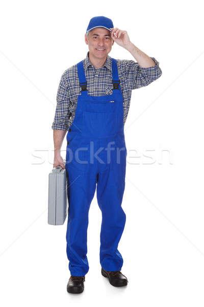 Mature Male Technician Holding Worktool Stock photo © AndreyPopov