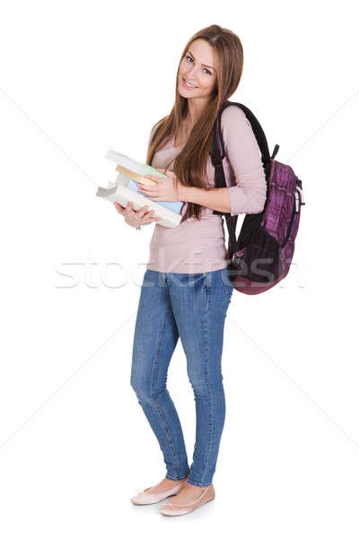 Portrait Of Young Female Student Stock photo © AndreyPopov