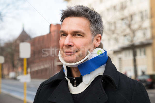 Man Suffering From Neck Ache Stock photo © AndreyPopov