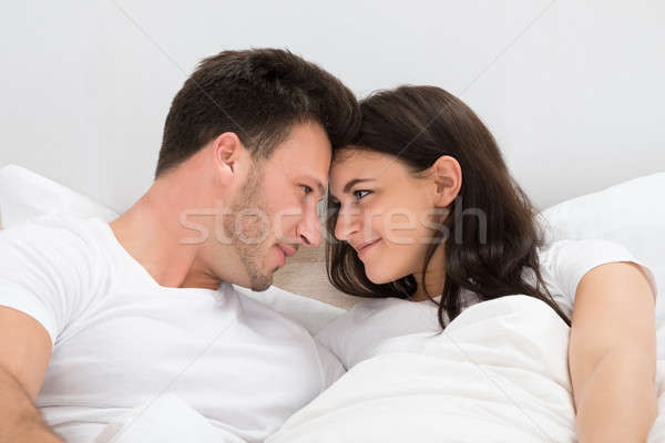 Romantic Couple Looking At Each Other Stock photo © AndreyPopov