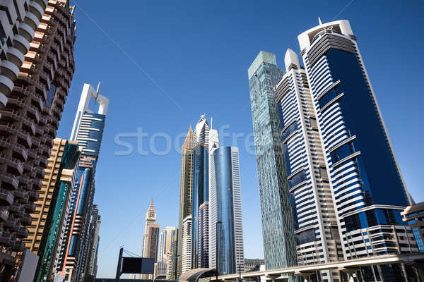 Sheikh Zayed Road Stock photo © AndreyPopov