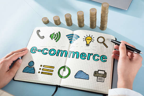 Ecommerce Online Shopping Concept Stock photo © AndreyPopov