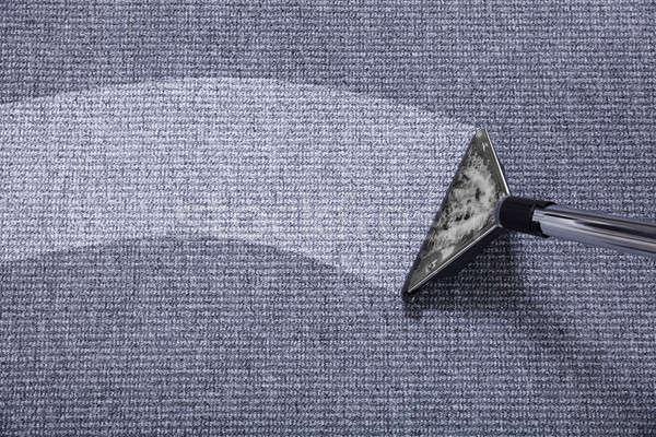 пылесос ковер серый работу домой Сток-фото © AndreyPopov
