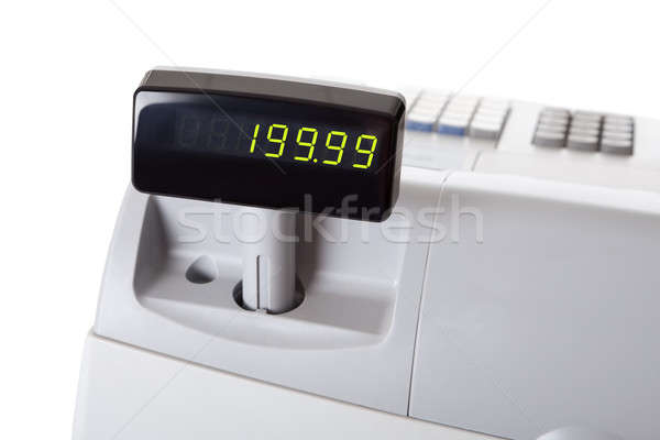 Cash register Stock photo © AndreyPopov