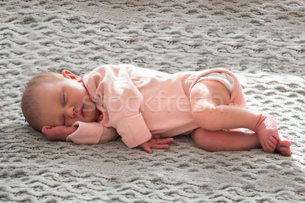 Baby Girl Sleeping Stock photo © AndreyPopov