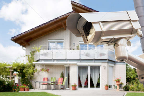 Security Camera Outside The House Stock photo © AndreyPopov