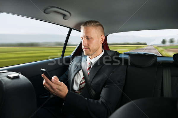 Affaires portrait voiture affaires Photo stock © AndreyPopov