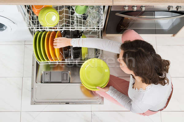 Woman Doing Housework Stock photo © AndreyPopov