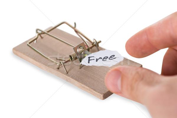 Stok fotoğraf: El · ücretsiz · imzalamak · kâğıt · erkekler · beyaz