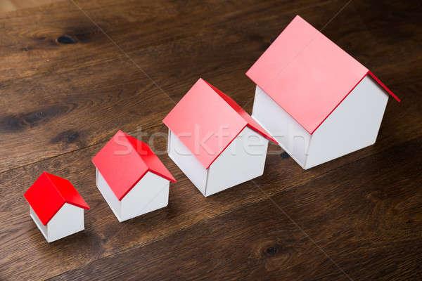 Different Size Houses Stock photo © AndreyPopov