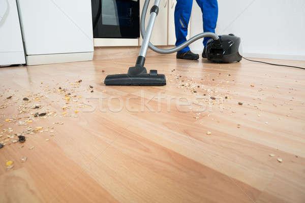 очистки полу пылесос низкий Сток-фото © AndreyPopov