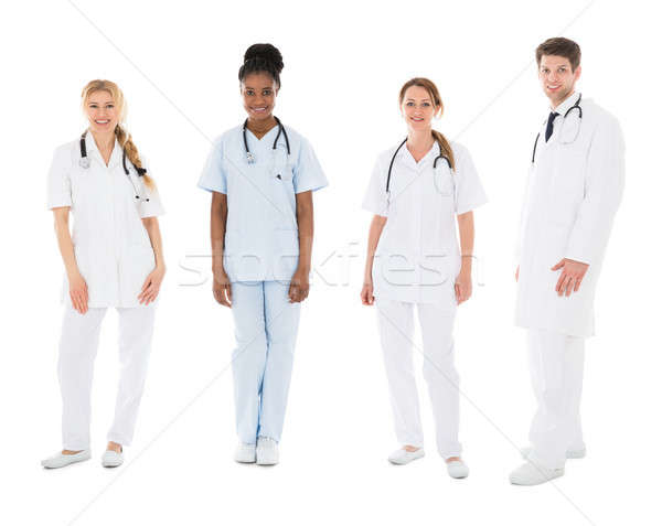 Portrait Of Happy Multiracial Medical Team Stock photo © AndreyPopov