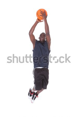 African Basketball Player Stock photo © AndreyPopov