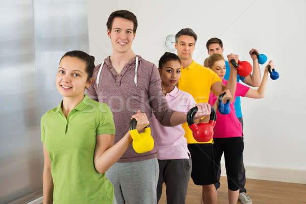 Multiethnic Group Of People  Exercising Stock photo © AndreyPopov