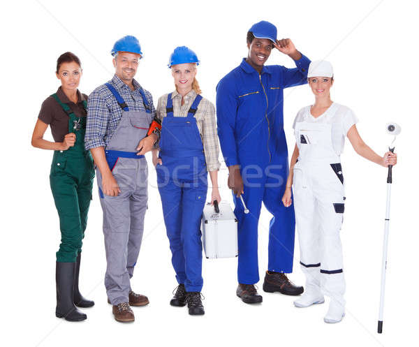 People Representing Diverse Professions Stock photo © AndreyPopov