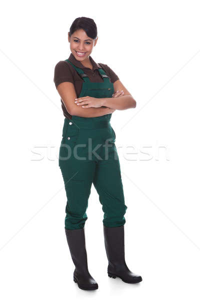 Young Female Gardner Stock photo © AndreyPopov