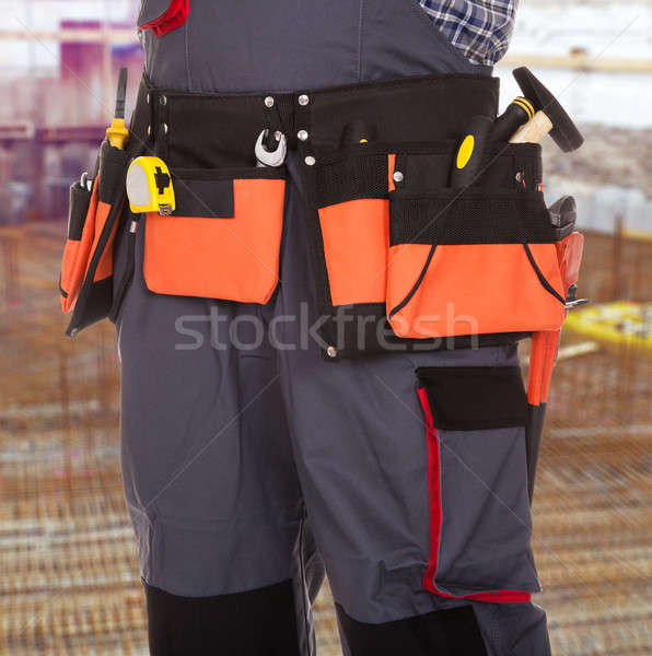 Repairman With Tool In Tool Bag Stock photo © AndreyPopov