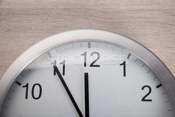 Foto stock: Relógio · cinco · meio-dia · ver