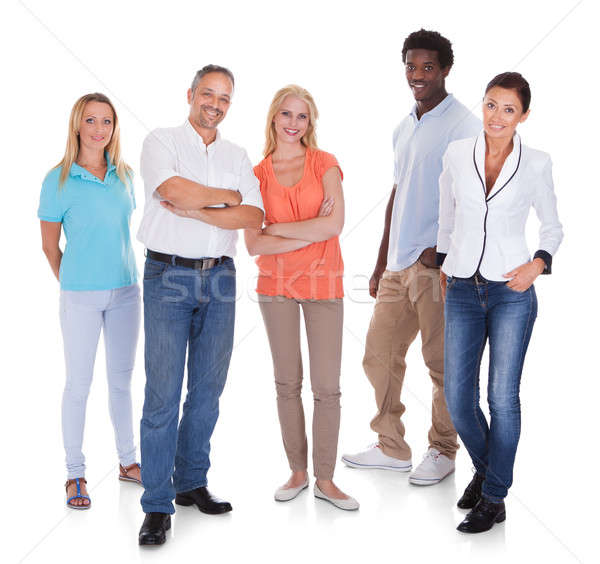 Multi-racial Group Of People Stock photo © AndreyPopov