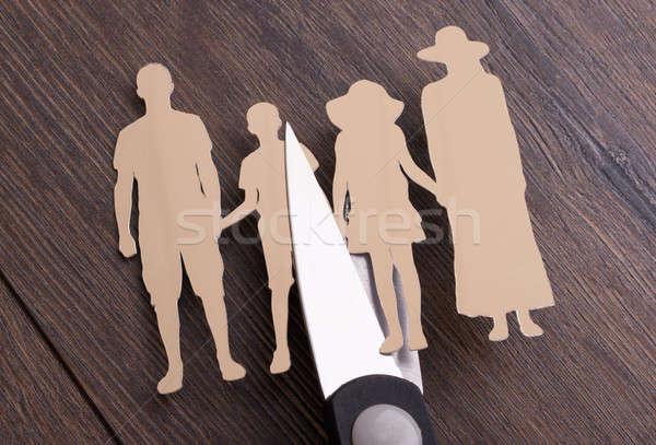 Family divorce concept Stock photo © AndreyPopov