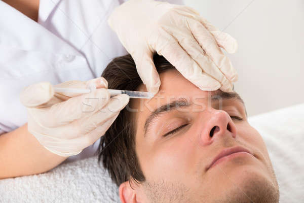 Man Having Botox Treatment Stock photo © AndreyPopov