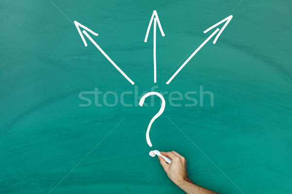Direction choice concept Stock photo © AndreyPopov