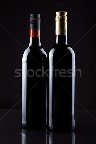 Two Bottles Of Wine Stock photo © AndreyPopov