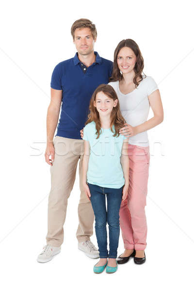 Portrait Of Family In Casuals Stock photo © AndreyPopov