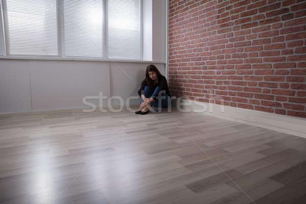 Portrait Of A Sad Woman Stock photo © AndreyPopov