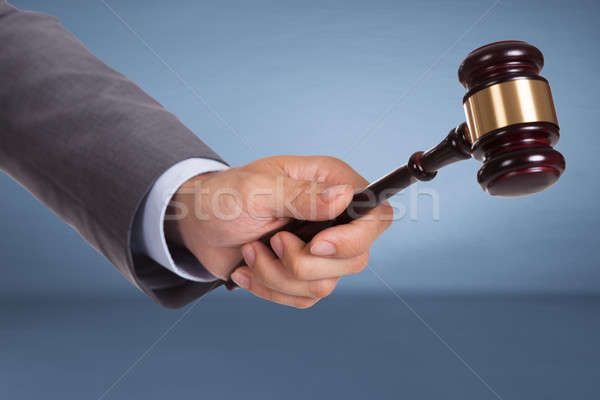 стороны судья рук человека фон Сток-фото © AndreyPopov