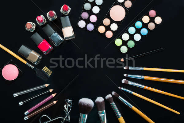 Professional Makeup Brushes And Make-up Products Set Stock photo © AndreyPopov
