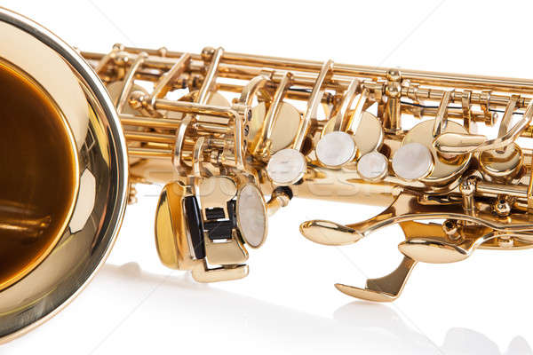 Close-up Of Trumpet Stock photo © AndreyPopov
