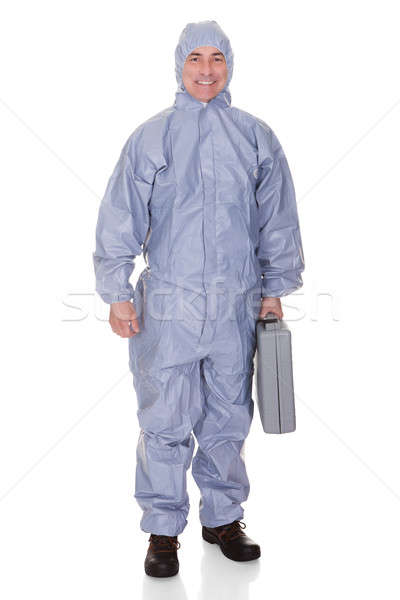 Mature Man With Protective Wear Stock photo © AndreyPopov