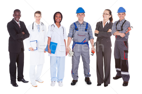 Confident People With Diverse Occupations Stock photo © AndreyPopov