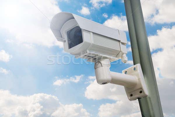 Close-up Of Security Camera Stock photo © AndreyPopov