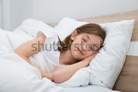 Woman with stomach ache Stock photo © AndreyPopov