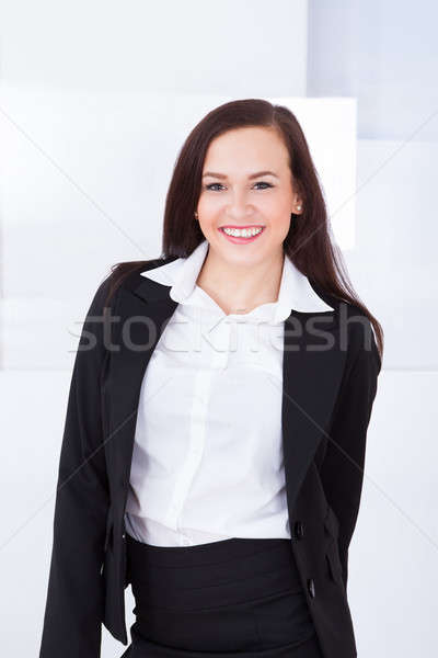 Portrait Of Welldressed Young Businesswoman Stock photo © AndreyPopov